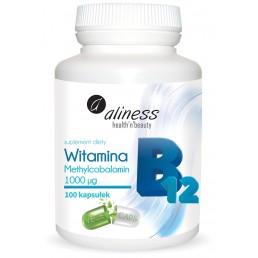 Witamina B12 Methylcobalamin 1000µg x 100 kaps.