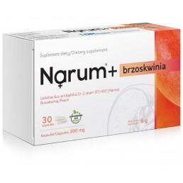 promocja Narum+ Brzoskwinia 200 mg, 30 kapsułek